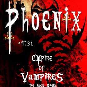 In premiera la Bucuresti concertul Phoenix – Empire of Vampires
