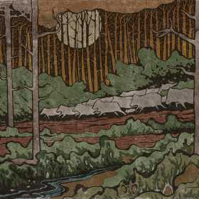 O serie de fotografii animate care ilustreaza un fragment din coloana sonora nostalgica creata de Costin Chioreanu