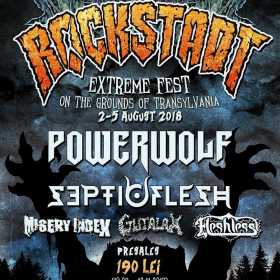 Primele formatii confirmate pentru Rockstadt Extreme Fest 2018