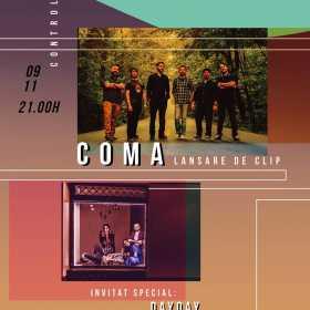 Trupa Coma lanseaza un nou videoclip in club Control