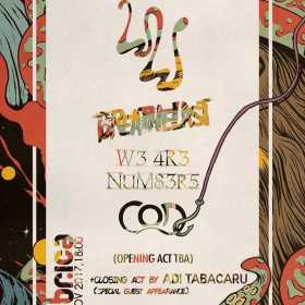Se apropie concertul White Walls, Breathelast, W3 4R3 NUM83R5, COD si Adi Tabacaru din club Fabrica