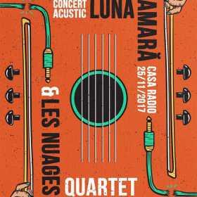 Concert acustic Luna Amara alaturi de Les Nuages, la Cluj
