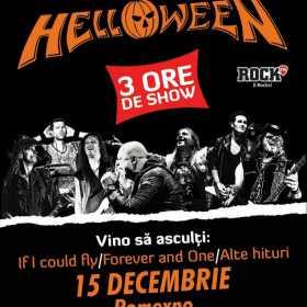 Concertul Helloween va avea loc pe 15 decembrie 2017 la Romexpo