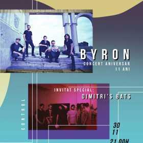byron in Club Control - concert aniversar 11 ani