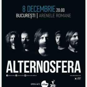 Concert Alternosfera la Arenele Romane: inca o trupa pe afis, program si reguli de acces