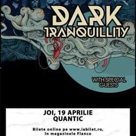 Concert Dark Tranquillity in clubul Quantic din Bucuresti