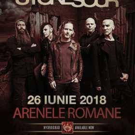 In vanzare biletele pentru concertul Stone Sour de la Bucuresti