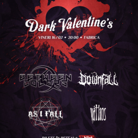 Dark City Nights revine in 2018 cu o editie speciala : 'Dark Valentine's'