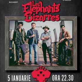 Les Elephants Bizarres concerteaza la Hard Rock Cafe