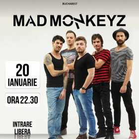 Trupa Mad Monkeyz concerteaza la Hard Rock Cafe