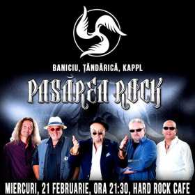 Concert Pasarea Rock la Hard Rock Cafe