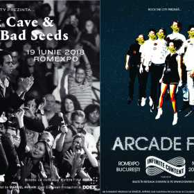 Rock The City prezinta concertele Nick Cave & The Bad Seeds si Arcade Fire