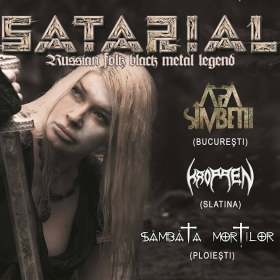 SATARIAL, Apa Simbetii, Kroppen, Sambata Mortilor (Metal Under Moonlight LXXIII, 26.05.2018)
