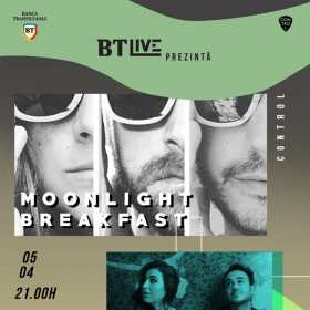 Concert Moonlight Breakfast și We Singing Colors în Club Control