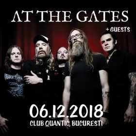 Concert At the Gates în Club Quantic
