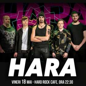 Concert Hara la Hard Rock Cafe