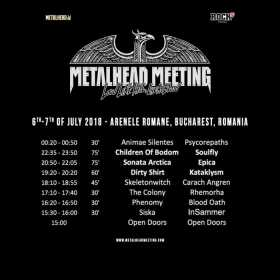 Metalhead Meeting 2018 la Arenele Romane din Bucuresti