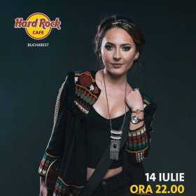 Concert Iuliana Puschila & Band la Hard Rock Cafe, Bucuresti