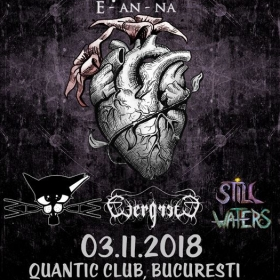 Concert E-an-na, Why Cat, Why?, EvergreeD si Still Waters in Quantic Club, Bucuresti