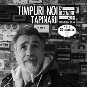 Concert Timpuri Noi (electric) vs Tapinarii live in Club Quantic