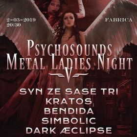 Psychosounds Metal Ladies Night V in club Fabrica