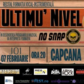 Concert Ultimu' Nivel și No Snap în Club Capcana, Timișoara