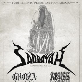 SADDAYAH, Groza, Abyss (Metal Under Moonlight LXXX, 13.04.2019)