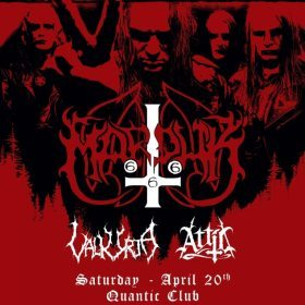 Concert Marduk, Valkyrja si Attic in club Quantic