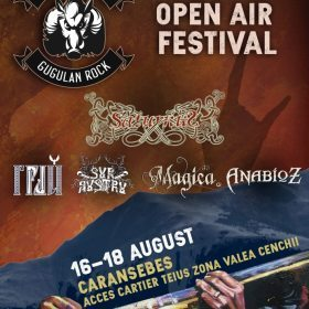 Gugulan Rock Open Air Festival la Caransebeș