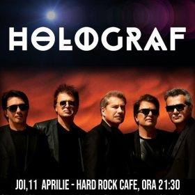 Concert Holograf la Hard Rock Cafe, București