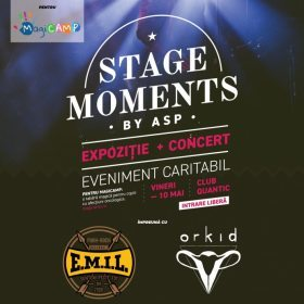 Eveniment caritabil 'Stage Moments' by ASP si concert acustic E.M.I.L. si Orkid