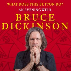 `What Does This Button Do? An Evening with Bruce Dickinson` la Sala Radio