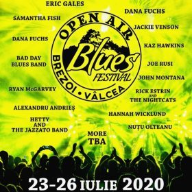 Open Air Blues Festival Brezoi 2020 - Valcea - AMANAT