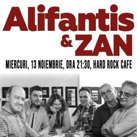 Concert Alifantis & ZAN la Hard Rock Cafe, București