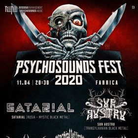 Psychosounds Fest 2020 va avea loc in club Fabrica