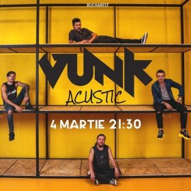 Concert acustic VUNK la Hard Rock Cafe