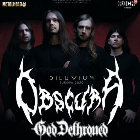 Program si reguli de acces la concertul Obscura, God Dethroned, Fractal Universe si Thulcandra