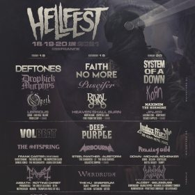 Line-up complet HellFest 2021