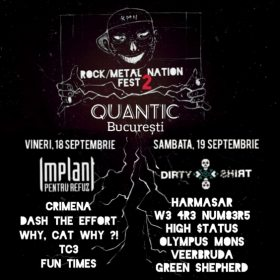 Rock / Metal Nation Fest #2 va avea loc in club Quantic