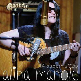 Concert Alina Manole - Necântate - in gradina de vara Quantic