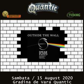 Concert Speak Floyd pe scena Gradinii de Vara a clubului Quantic