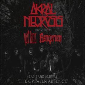 Concert Akral Necrosis in Quantic Club - program si regulament