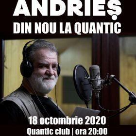 Concert Alexandru Andries in Quantic Club