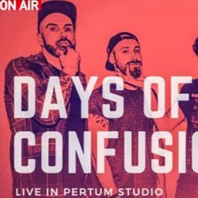 Concert electric Days of Confusion la Pertum TV