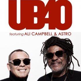 Concert UB40 feat. Ali Campbell si Astro la Sala Palatului din Bucuresti