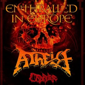 Concert Atheist, Cadaver, Svart Crown, From Hell si Critical Mess in club Quantic