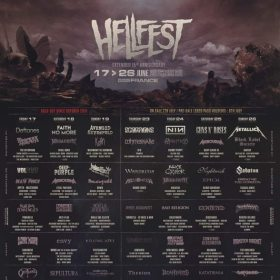 În 2022, Hellfest dublează miza! 7 zile si 350 de trupe!