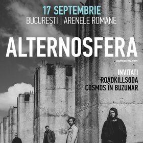 RoadkillSoda si Cosmos in Buzunar vor deschide concertul Alternosfera de la Arenele Romane