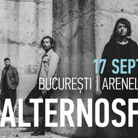 Alternosfera revine la București cu un mare concert la Arenele Romane