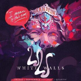 Concert White Walls in club Quantic, program si reguli de acces